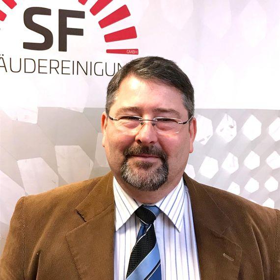 Das Bild zeigt Axel Hoffmann, Niederlassungsleiter Zwenkau